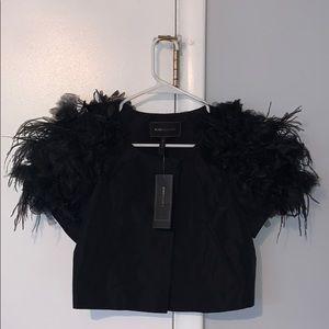 BCBGMAXAZRIA accessory blouse